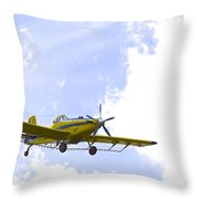 Flying By Wire 1 Of 6 Throw Pillow