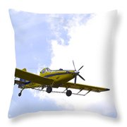 Flying By Wire 2 Of 6 Throw Pillow
