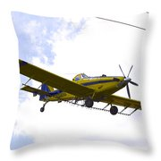 Flying By Wire 3 Of 6 Throw Pillow