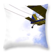 Flying By Wire 5 Of 6 Throw Pillow