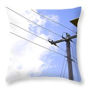 Flying By Wire 6 Of 6 Throw Pillow