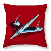 Flying Chevy Throw Pillow