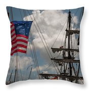 Flying Colors Throw Pillow