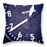 A L T I T U D E Throw Pillow