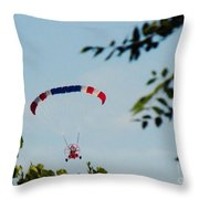 Paraplane Flying High Throw Pillow