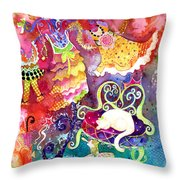 Flying In Style Throw Pillow