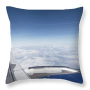 Flying Like A Bird Throw Pillow