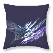 Flying Roacks Throw Pillow