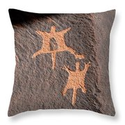 Flying Squirrels Throw Pillow