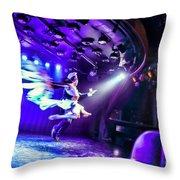 Flying Tango Throw Pillow