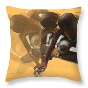 Flying Times Throw Pillow