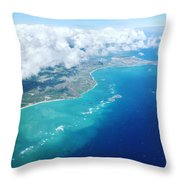 Flying To Paradise Throw Pillow