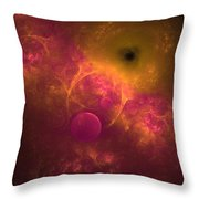 Flying Too Close To The Sun Throw Pillow