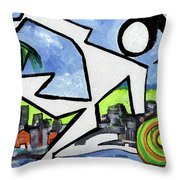 Flyingboyeee Throw Pillow
