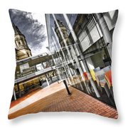Flyover Throw Pillow