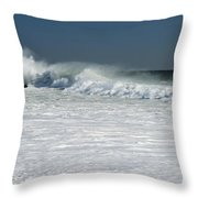 Foam And Fury Throw Pillow