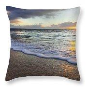 Foam Sunset Throw Pillow