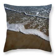 Foamy Water Throw Pillow