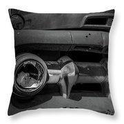 Focus Point Throw Pillow