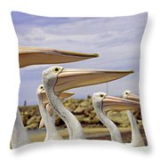 Focused Attention Throw Pillow