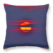 Focusing On The Sun Throw Pillow