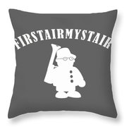 Foerstermeister - Easy Learning German Language Throw Pillow