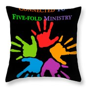 Fofmi Connected 2016 Throw Pillow