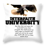 Fofmi Iu Tshirt Throw Pillow