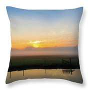 Fog 1 Throw Pillow