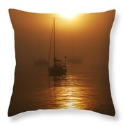 Fog Breaking On Superior Throw Pillow