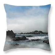 Fog Lift Throw Pillow