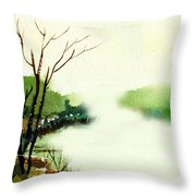 Fog1 Throw Pillow
