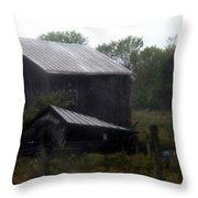 Foggy Farm Throw Pillow