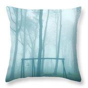 Foggy Swing Throw Pillow