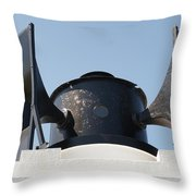 Foghorn. Throw Pillow
