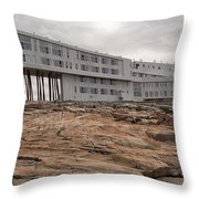 Fogo Island Inn Throw Pillow