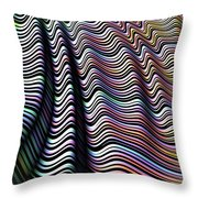 Folded Candy Throw Pillow