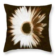 Folded Daisy Throw Pillow