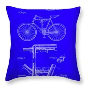 Folding Bycycle Patent Drawing 1h Throw Pillow
