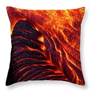 Folding Lava Throw Pillow