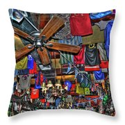 Foley's Pub In Manhattan Throw Pillow