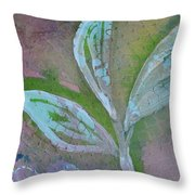 Foliage 1 Throw Pillow