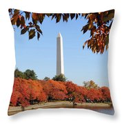 Foliage Potomac Throw Pillow