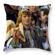 Folklore Throw Pillow