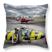 Folland Gnat  Throw Pillow