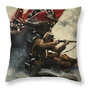 Follow Me Boys Throw Pillow