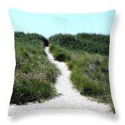 Follow Me To The Sea Throw Pillow