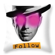 Follow The Leader - Poster Throw Pillow