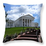 Follow The Steps Throw Pillow