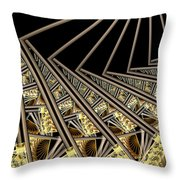 Follow The Sunrays Throw Pillow
